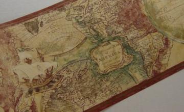 Map Wallpaper Border