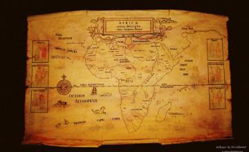 Map Wallpaper Designs