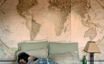 Map Wallpaper for Home Walls