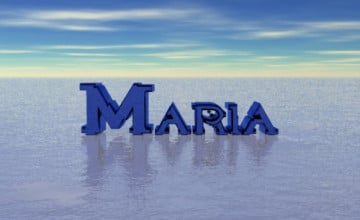 Maria Name Wallpaper