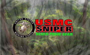 Marine Sniper Wallpaper
