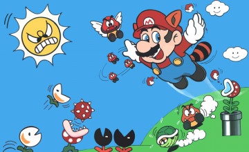Mario 3 Wallpaper