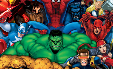 Marvel 3D Wallpapers