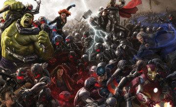 Marvel Age of Ultron Wallpaper