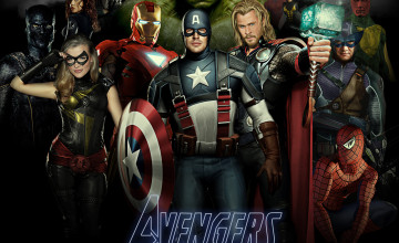 Marvel Avengers HD Wallpaper