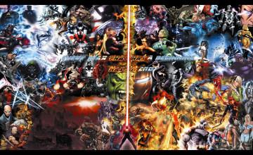 Marvel DC Wallpaper