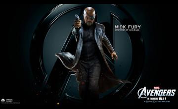 Marvel Nick Fury Wallpaper