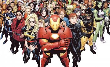 Marvel Superheroes Wallpaper