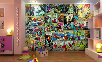 Marvel Wallpaper Bedroom