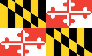 Maryland Flag Desktop Wallpaper