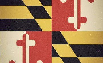 Maryland Flag Wallpaper