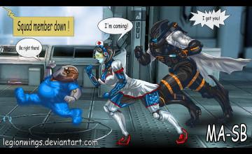 Mass Effect 3 Multiplayer Wallpaper