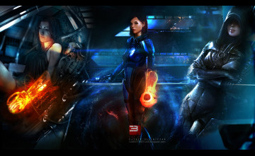 Mass Effect Android Wallpaper