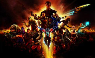 Mass Effect Desktop Wallpaper