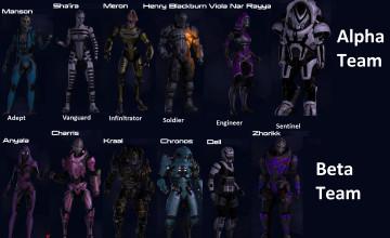 Mass Effect Multiplayer Wallpaper