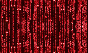 Matrix Binary Code Falling Wallpaper