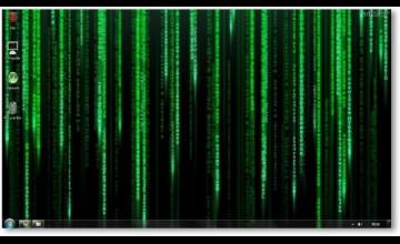 Matrix Wallpaper for Windows 10