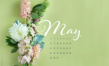 May 2016 Calendar Wallpaper