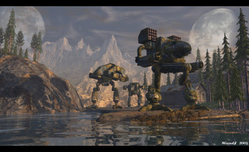 MechWarrior Desktop Wallpaper