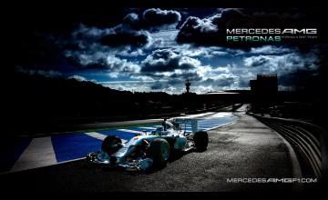 Mercedes AMG F1 Wallpaper