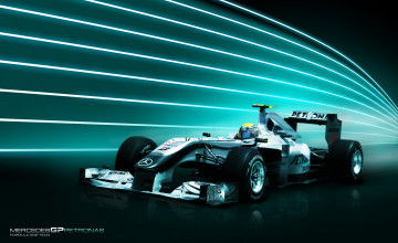 Mercedes F1 Wallpapers