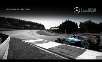 Mercedes W08 Wallpapers