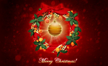 Merry Christmas Computer Wallpaper