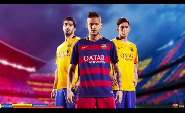 Messi and Neymar Wallpaper 2016