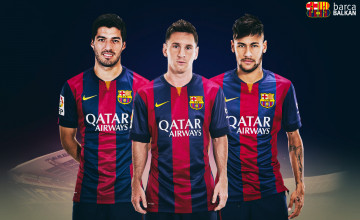 Messi and Neymar Wallpaper HD