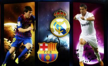 Messi and Ronaldo Wallpaper