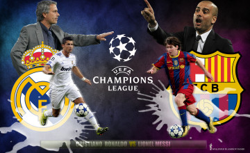 Messi and Ronaldo Wallpapers