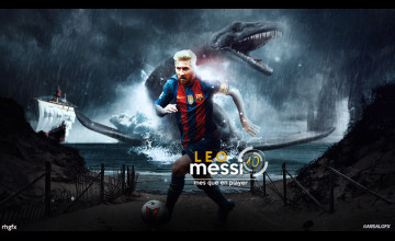 Messi Background 2017