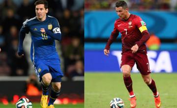 Messi vs Ronaldo Wallpaper 2016