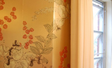 Metallic Asian Wallpaper