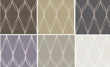 Metallic Geometric Wallpaper