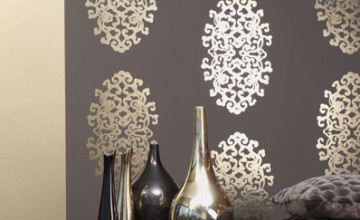 Metallic Wallpaper Designs