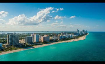 Miami Beach Desktop Wallpaper