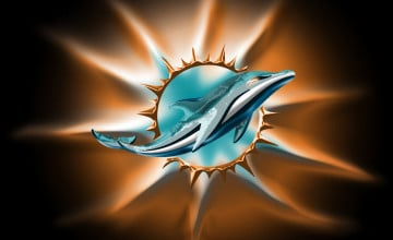 Miami Dolphins New Logo Wallpaper