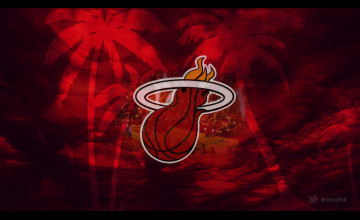 Miami Heat Background Wallpaper
