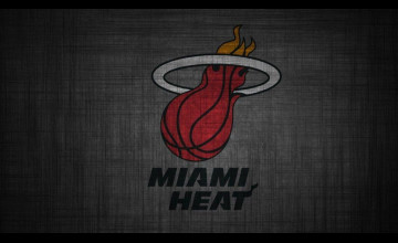 Miami Heat Logo Wallpaper 2016