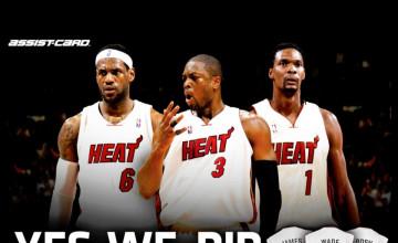 Miami Heat Screensavers and Wallpaper