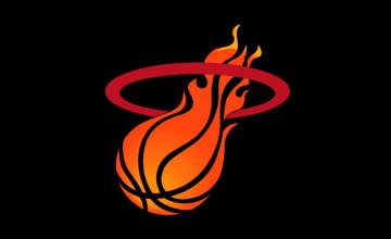 Miami Heat Wallpaper Logo