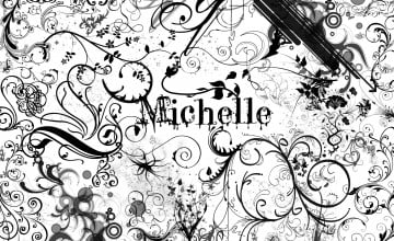 Michelle Name Wallpaper