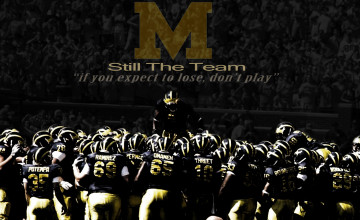 Michigan Football Desktop Wallpaper