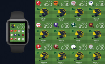 Michigan Football Schedule 2015 Wallpaper