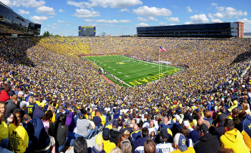 Michigan Stadium Wallpaper