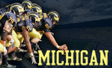 Michigan Wallpaper Football