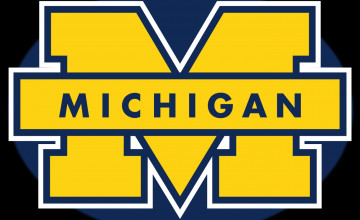 Michigan Wolverines Logo Wallpaper