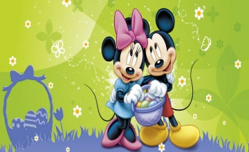 Mickey Mouse Spring Wallpaper