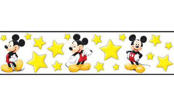 Mickey Mouse Wallpaper Border